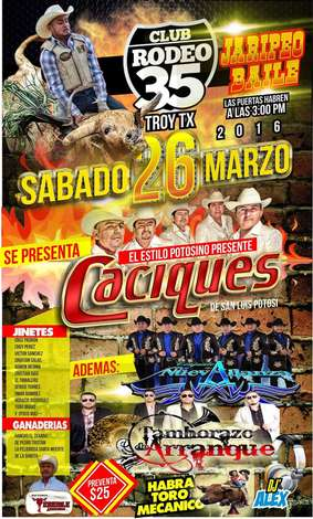 Rodeo Troy: Sat, Mar 26, 2016