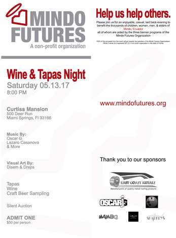 MINDO FUTURES WINE&TAPAS NIGHT