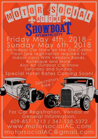 Motor Social At The Showboat Hotel Atlantic Fri May - Atlantic city car show