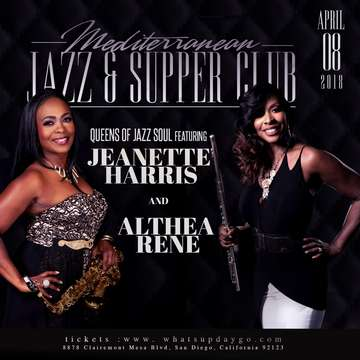Queens of Jazz Soul Tour @ Mediterranean Jazz and Supper Club  | San Diego | California | United States