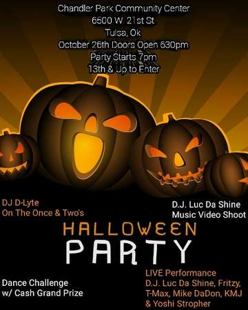 Halloween Night Party: Fri, Oct 26, 2018