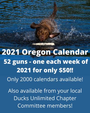 Oregon Events Calendar 2021 Background