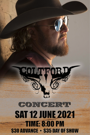 Colt Ford at Busco Beach & ATV Park w/ special guest Georgia Thunderbolts