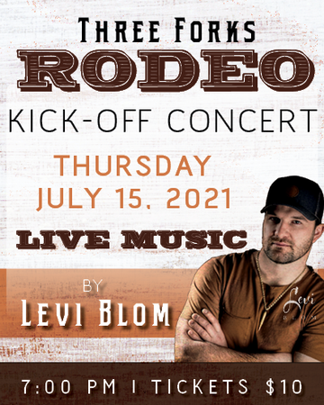 2021 Annual Three Forks NRA Rodeo & Kickoff Concert