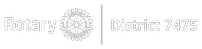 Rotary District 7475 Logo